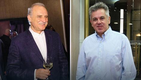 Kumovi: Lazar Ristovski i Boban Skerlić