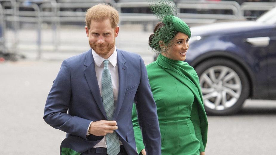 Wielka Brytania. Według prasy Harry i Meghan złamali zasadę politycznej neutralności monarchii