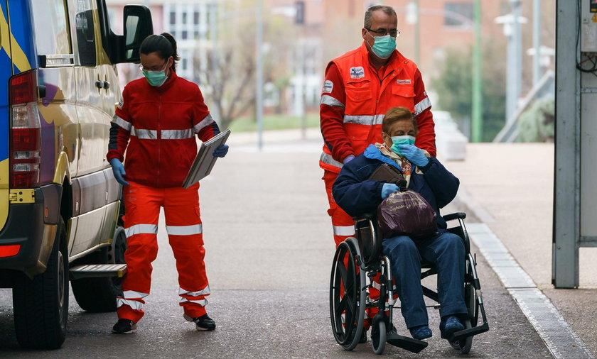 Dramat w Hiszpanii. Gdy zabraknie sprzętu, będą ratować młodych
