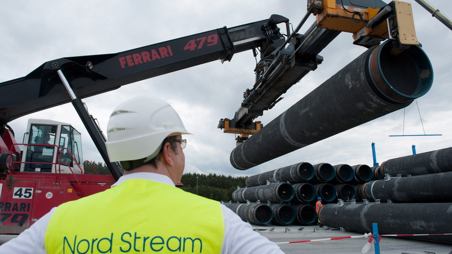 Budowa rurociągu Nord Stream