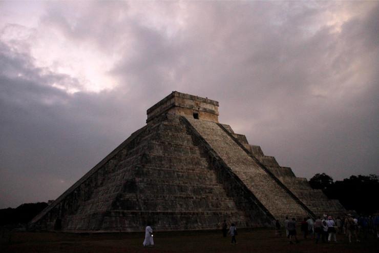 piramida Kukulkan Čičen Ica Maje foto Tanjug AP
