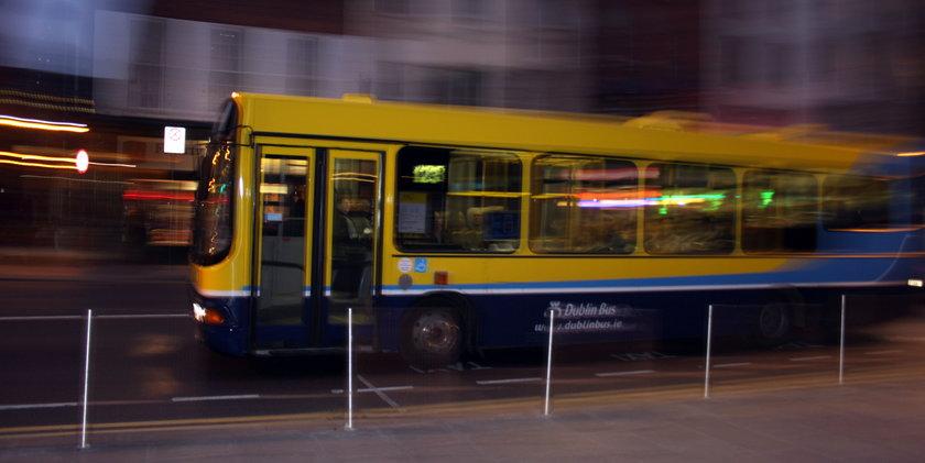 Autobus w Dublinie