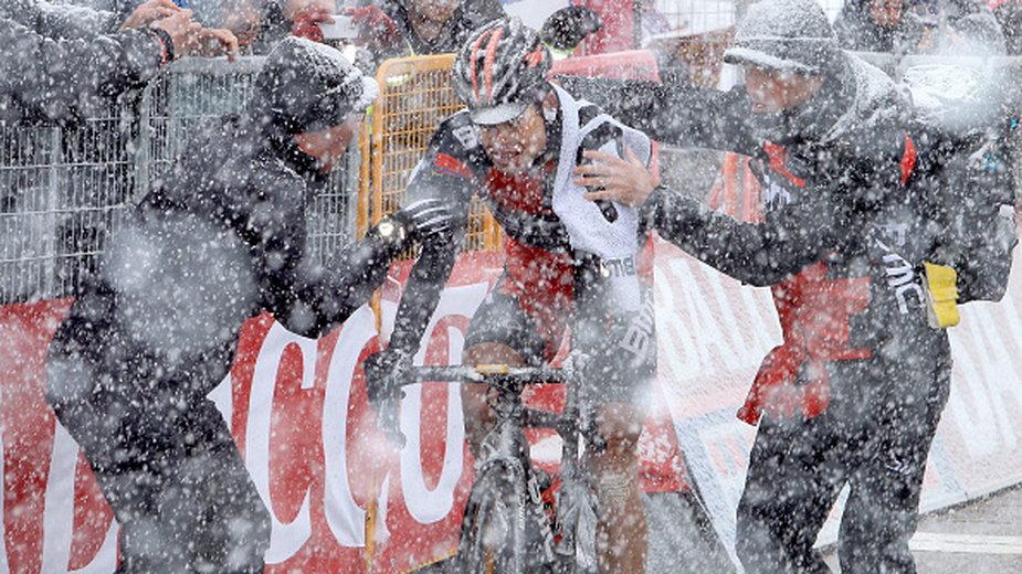 96. Tour Of Italy w 2013 roku. Podjazd na Tre Cime Di Lavaredo