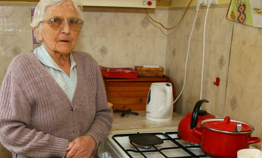 Oszukana na kuchenkę gazową