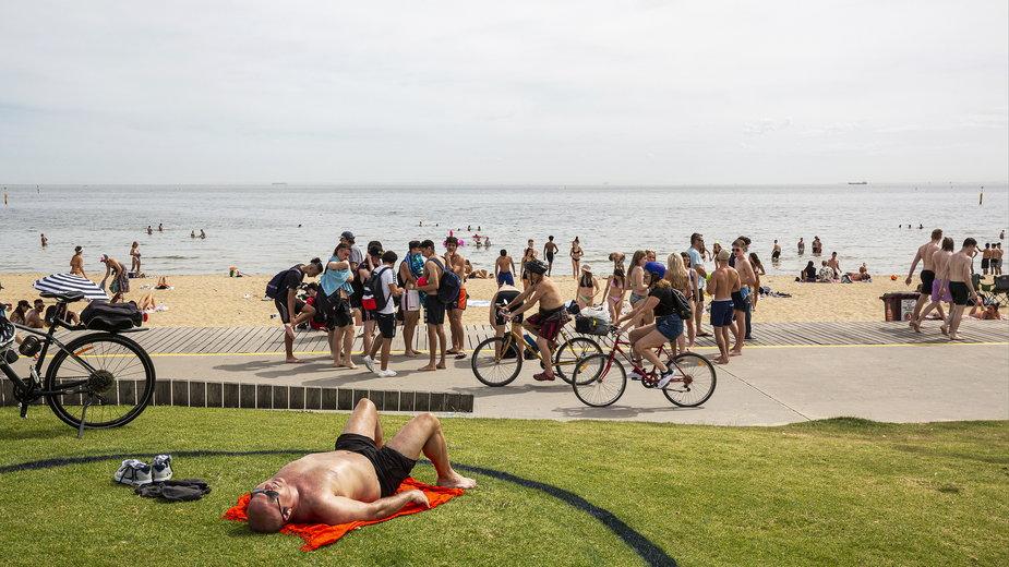 Plaża St Kilda, Melbourne