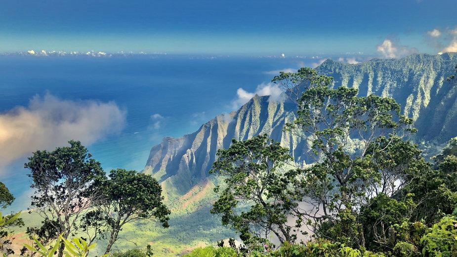 Rajska przyroda Hawajów na wyspie Kauai