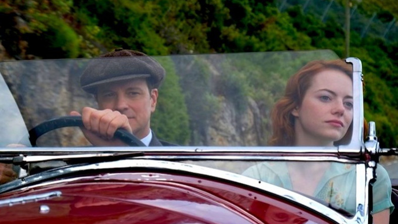 "Colin Firth i Emma Stone w filmie ""Magic in the Moonlight"""