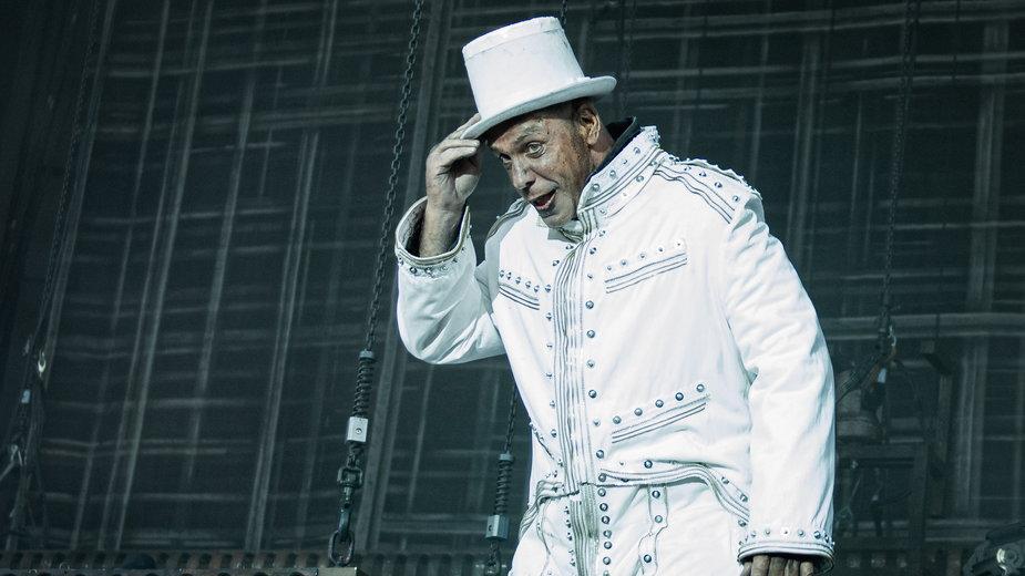 Till Lindemann z zespołu Rammstein