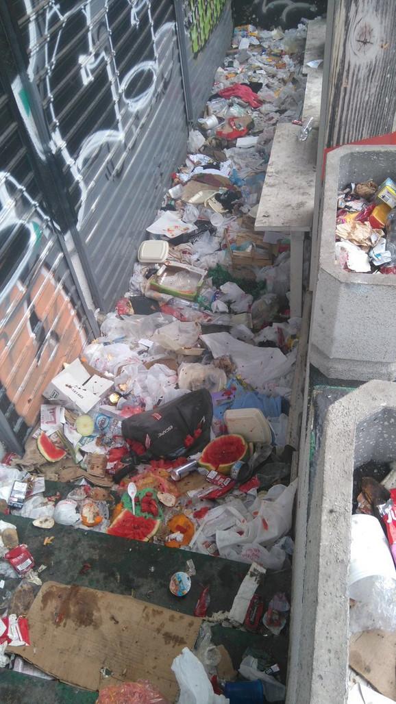 Bruka i sramota u Kameničkoj ulici
