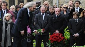Pogrzeb Robina Gibba