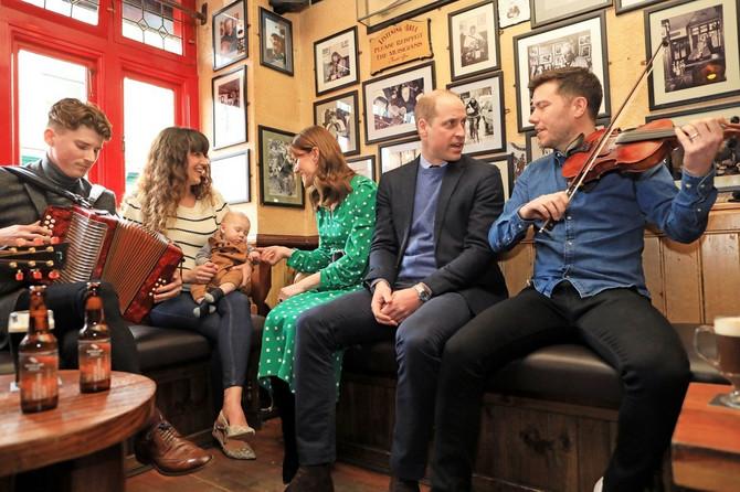 Kejt Midlton i princ Vilijam u Irskoj