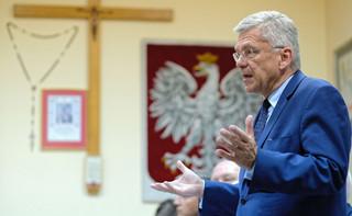 Karczewski o dymisji Piebiaka: PiS wyznaczył wysokie standardy i w każdej sytuacji decyzje podejmowane są bez zwłoki [WYWIAD]