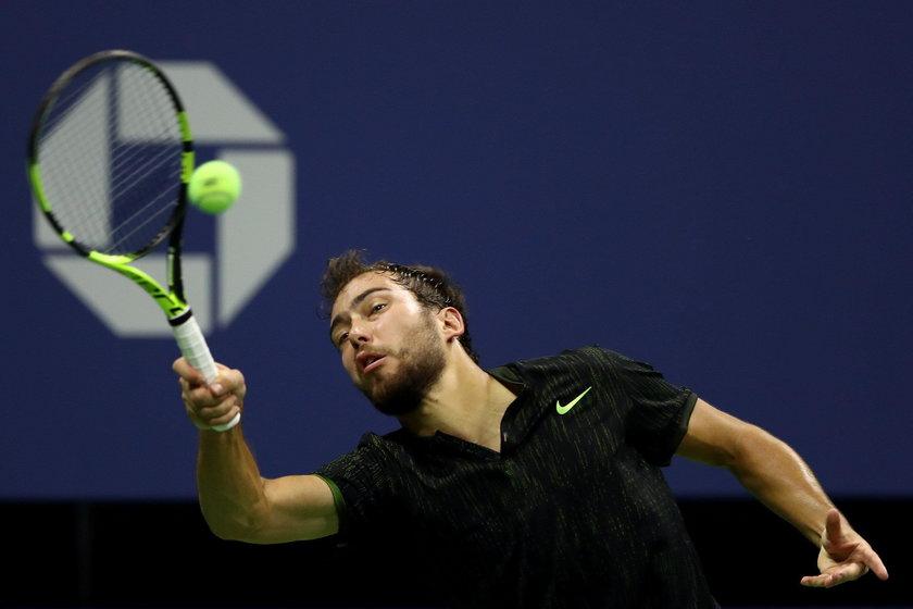 Polski tenisista przegrał pojedynek z gwiazdorem