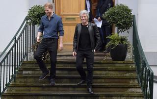 Książę Harry i Jon Bon Jovi nagrali utwór w londyńskim studiu Abbey Road