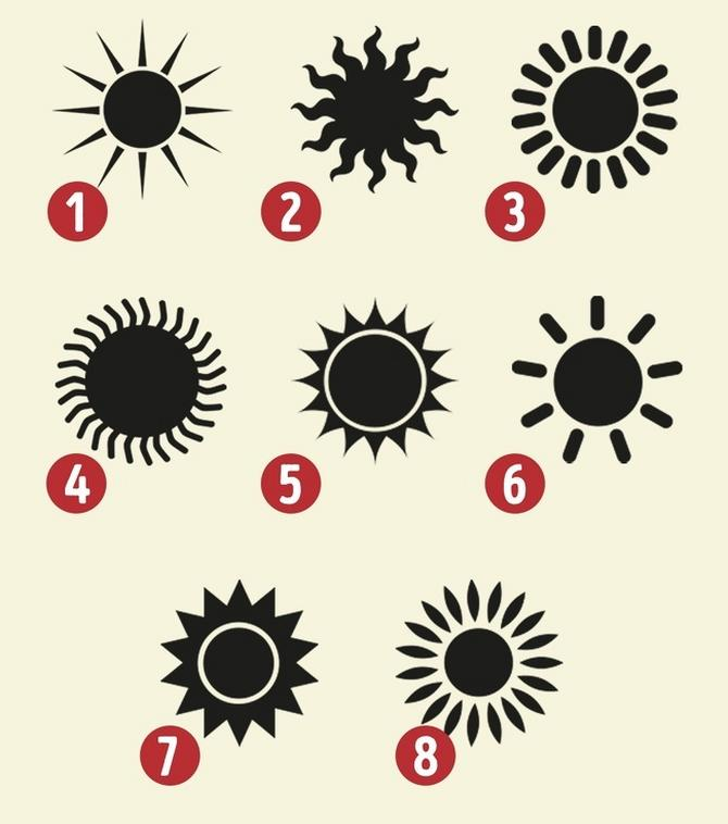 Koje sunce vam izgleda najprimamljivije?