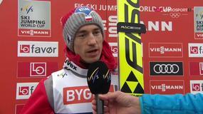 Kamil Stoch: Andy, trzymaj się!