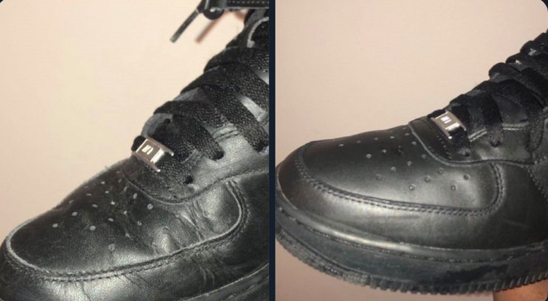 A step by step guide on how to remove creases from your sneakers