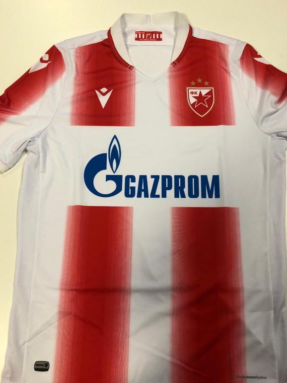 Prvi dres sa tri zvezdice koji je došao na adresu FK Crvena zvezda