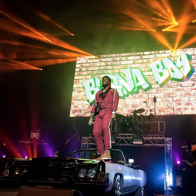 Vogue features Burna Boy at his sold out London show