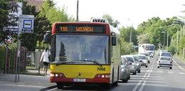 Strachocińska stoi przez autobusy