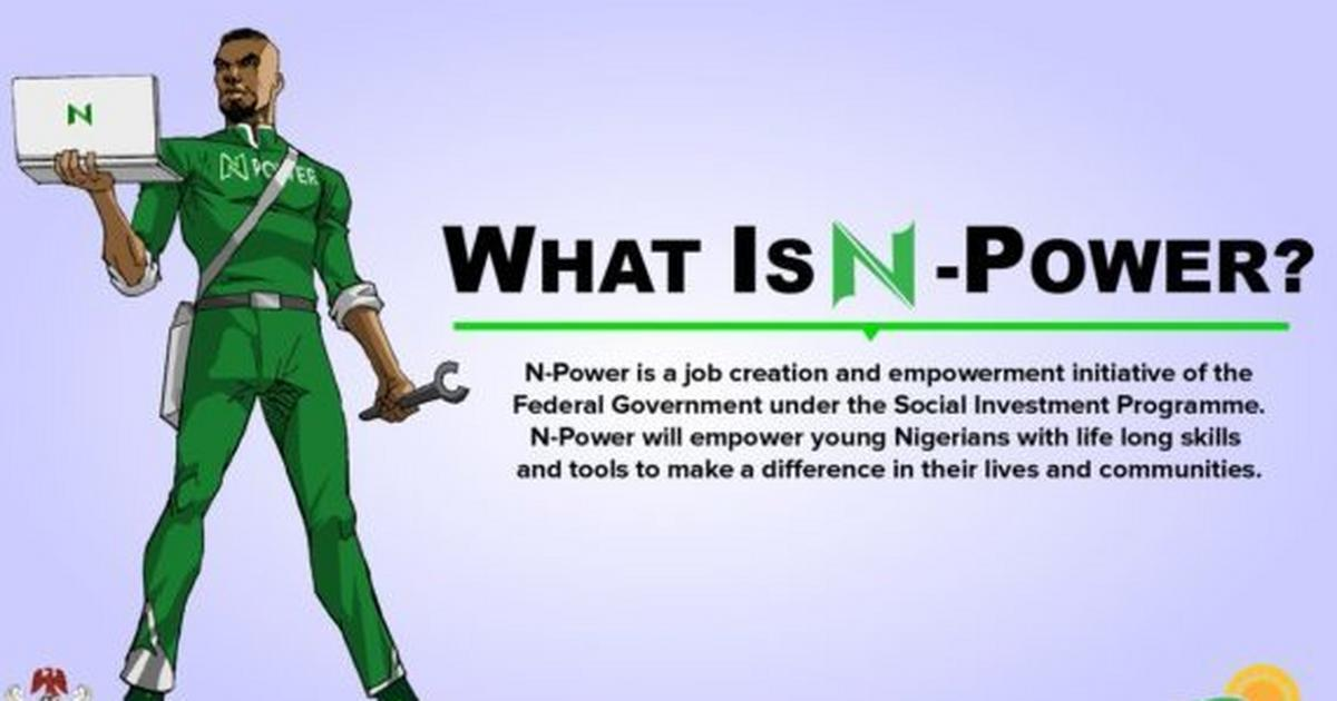 N-Power FG approves additional N4500 as 150K beneficiaries confirms