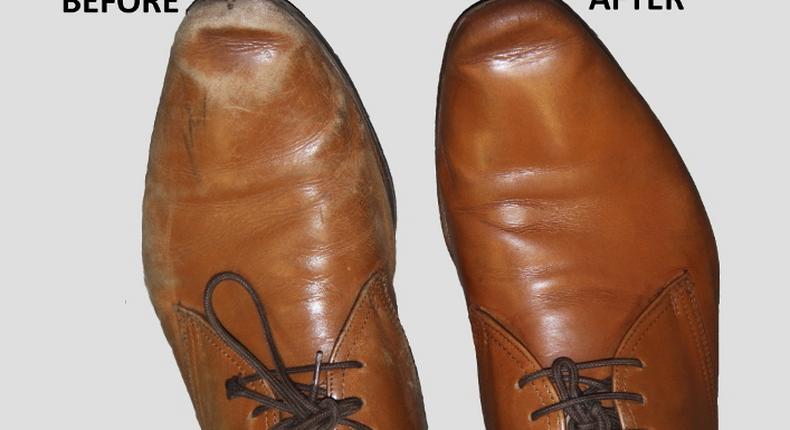 Shining shoes(Furniture Clinic)