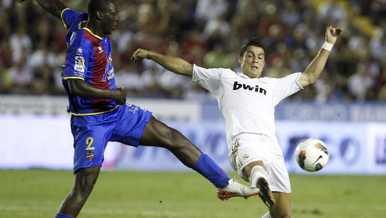 Cristiano Ronaldo nie potrafił poradzić sobie z rywalami