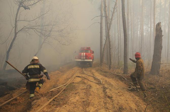 Požar u Ukrajini