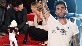 Adam Levine z Maroon 5 zostanie ojcem po raz drugi! Zobaczcie ciążowe krągłości jego ukochanej