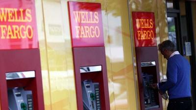 Wells Fargo plummets 8% after posting its first quarterly loss since the financial crisis