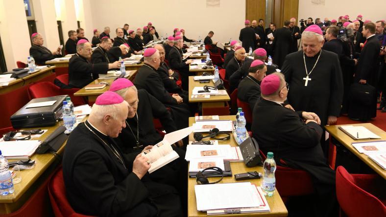 Biskupi podczas Plenarnego Zebrania Konferencji Episkopatu Polski