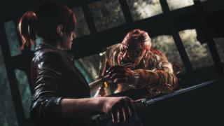 Claire Redfield i Barry Burton. 'Resident Evil: Revelations 2'