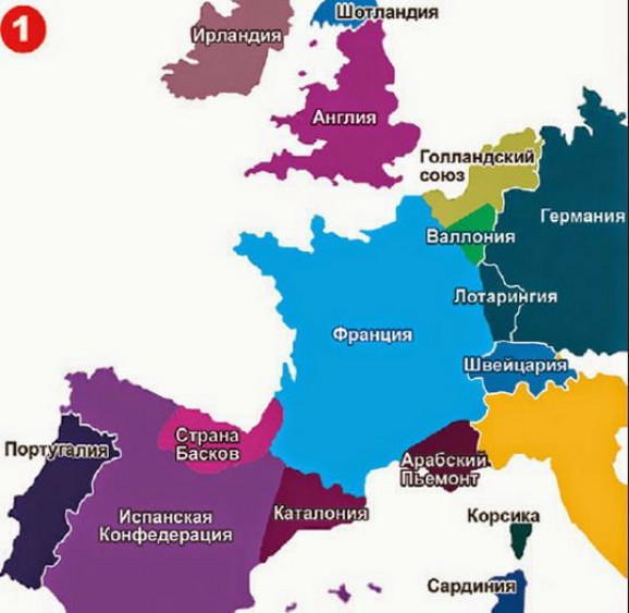 karta evrope 2035 po rusima EVROPA PO PUTINU Kako ruski predsednik zamišlja granice 2035  karta evrope 2035 po rusima
