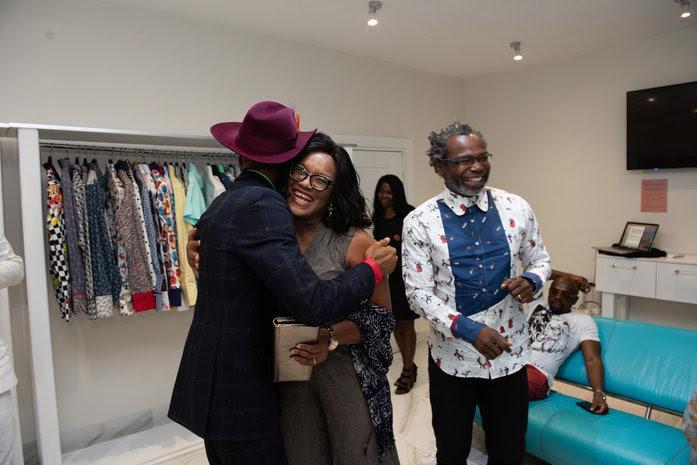 Emmy Collins and famed Nigerian photographer Kelechi Amadi-Obi