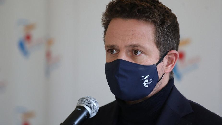Rafał Trzaskowski ostro komentuje wyrok Trybunału Konstytucyjnego ws. aborcji