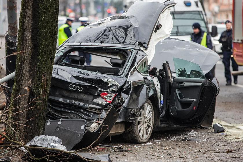 Śmiertelny wypadek na ulicy Królowej Jadwigi