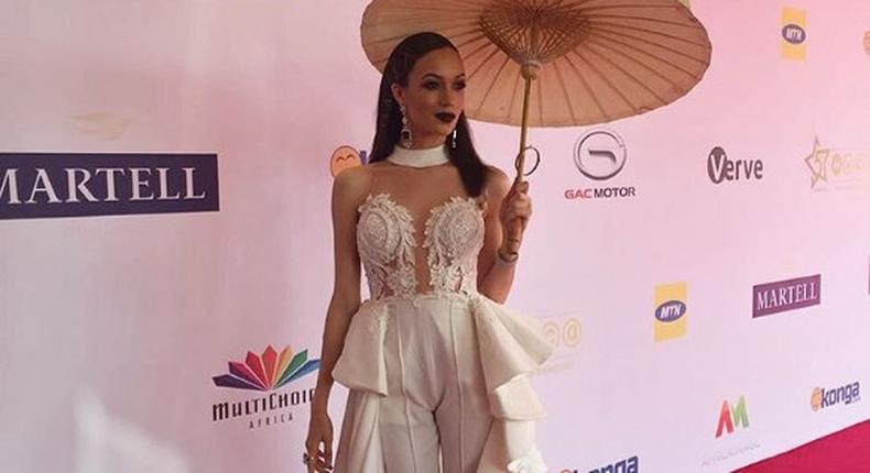 Eku Edewor in Style Temple for AMVCA 2017