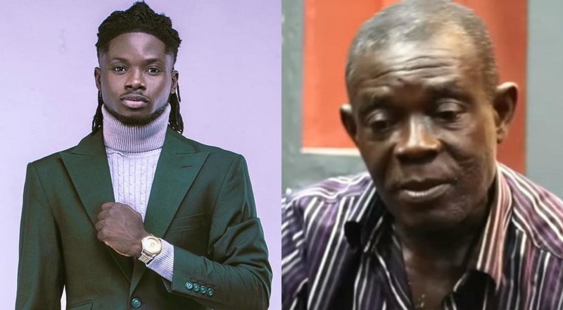 Kuami Eugene denies knowing man who claims to be his biological father (VIDEO)