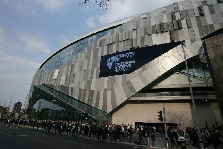 The gleaming stadium has a 62,062 capacity - marginally bigger than Spurs' north London rivals Arsenal