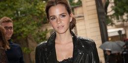 Rockowa Emma Watson w koronce
