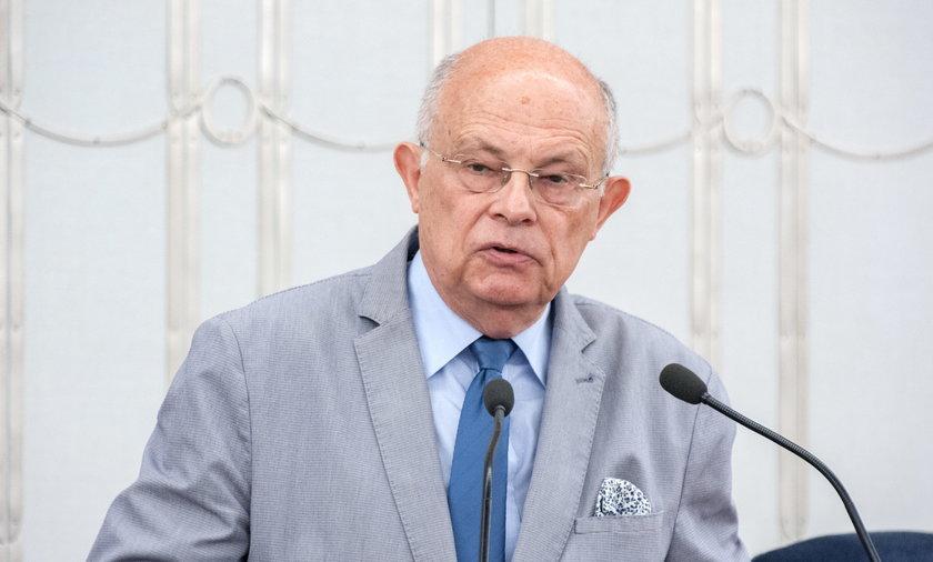 Na zdjęciu senator KO Marek Borowski.
