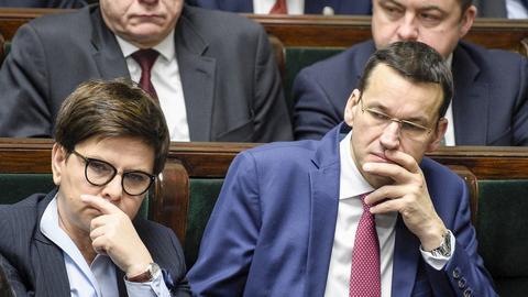 Mateusz Morawiecki miałby zastąpić Beatę Szydło na stanowisku szefa rządu