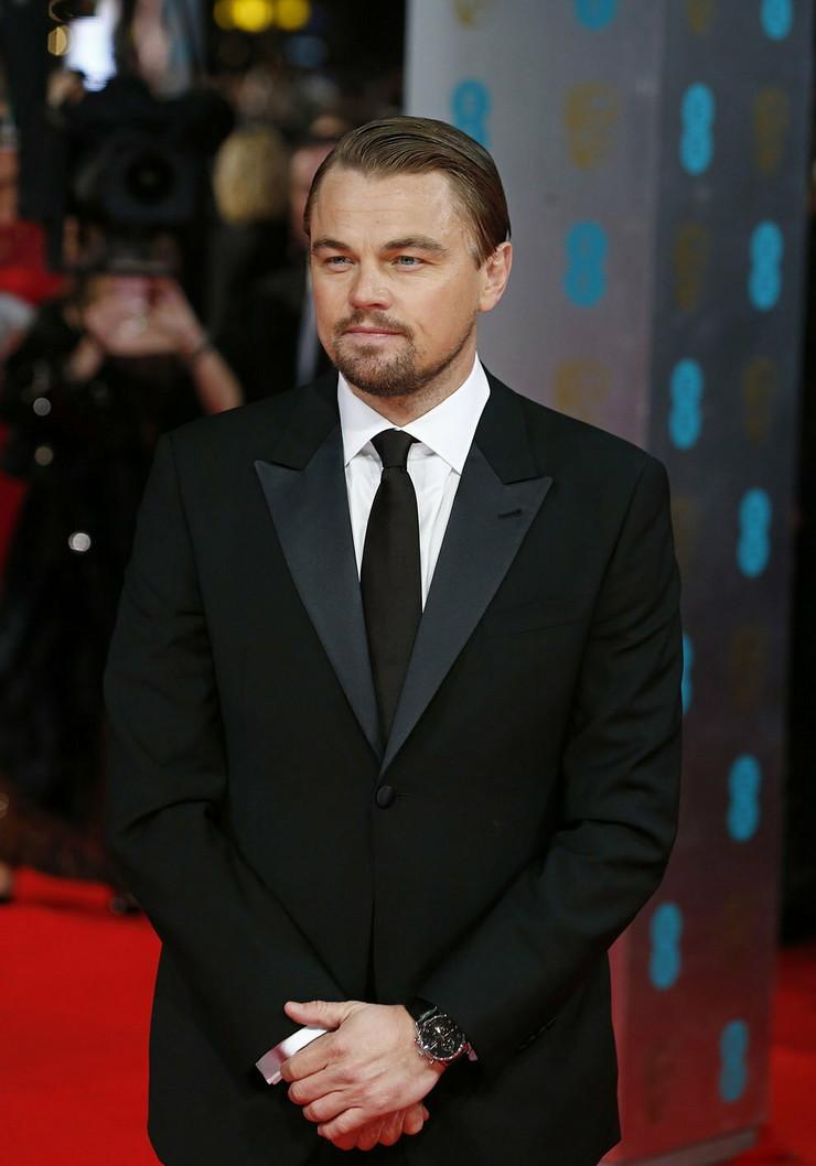 Leonardo Dikaprio je na dodelu nagrada došao sam.