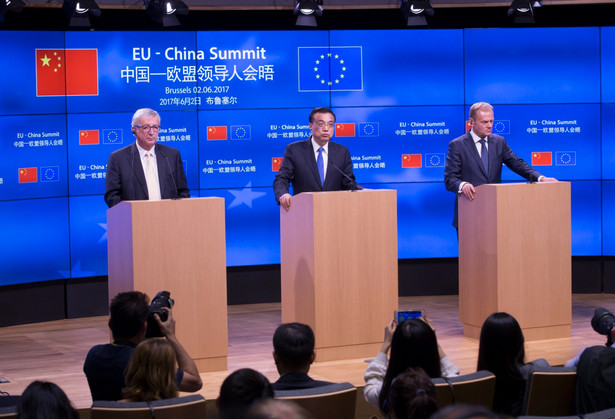 Jean-Claude Juncker, Li Keqiang i Donald Tusk