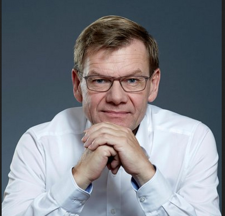 Johan Vadeful, Nemačka, Poslanik
