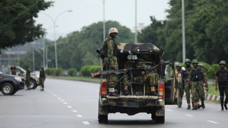 Soldiers on duty in Nigeria. Illustrative photo (Punch)
