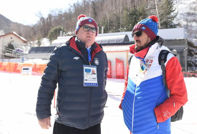 Božidar Maljković u razgovoru sa našim izveštačem iz Pjongčanga Aleksandrom Pijevcem