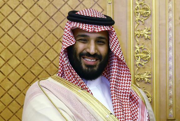 Mohamed bin Salman, prestolonaslednik Saudijske Arabije