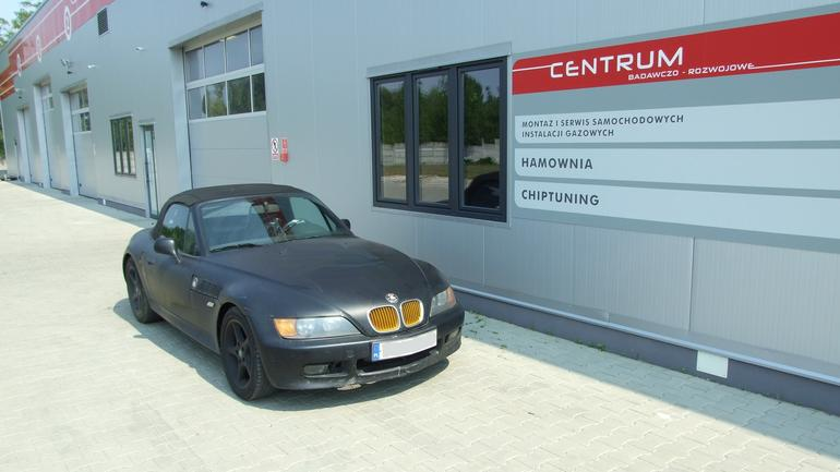 BMW Z3 z instalacją LPG