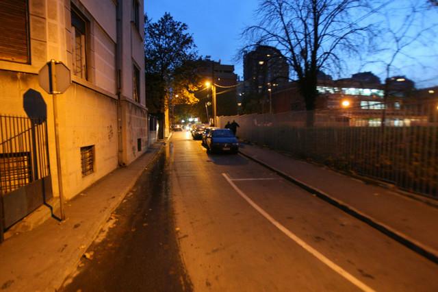 Ulica Radivoja Koraća jedna je od retkih nazvanih po sportistima